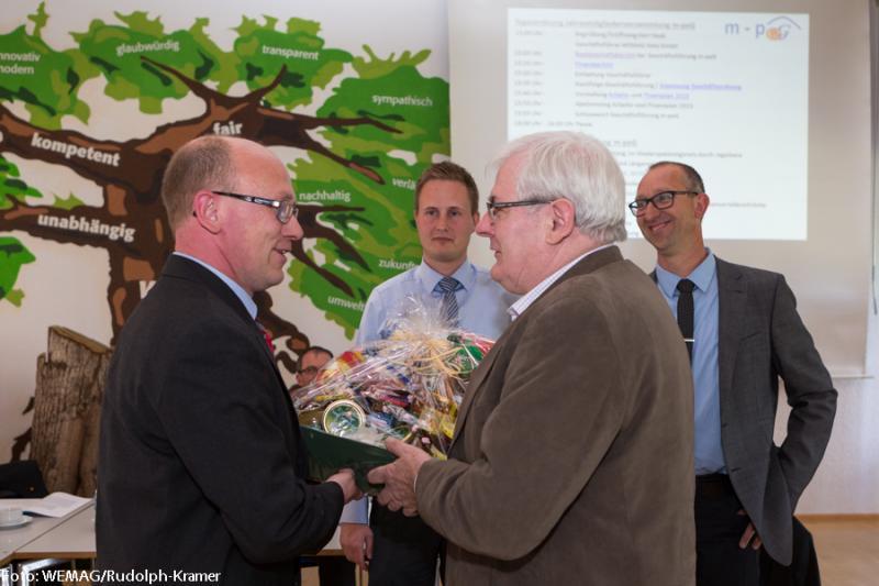 Nachfolger von Jürgen Gauer in der m-peG Geschäftsführung wurde Christian Jessel