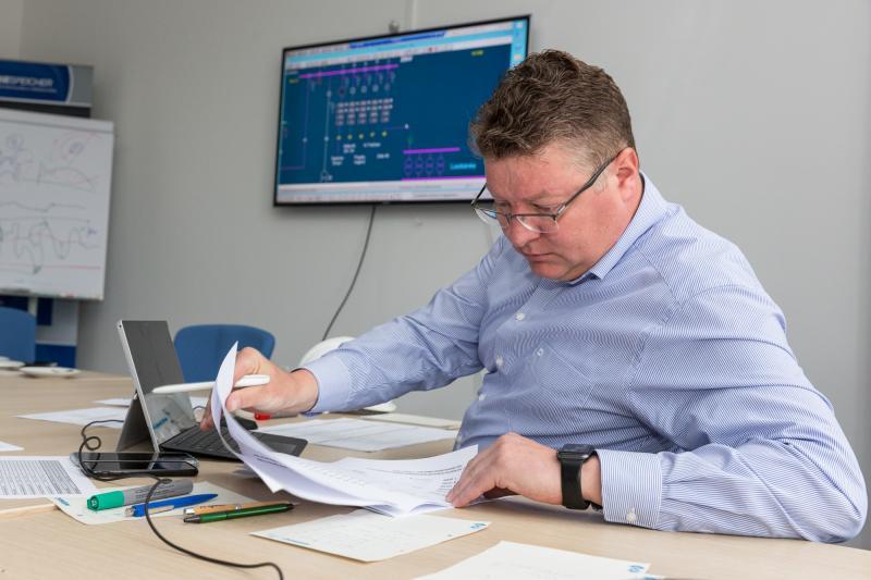 Tobias Struck, Geschäftsführer WEMAG Batteriespeicher