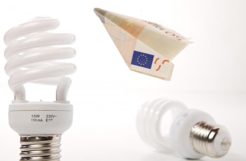 Strom sparen mit Stromsparlampen