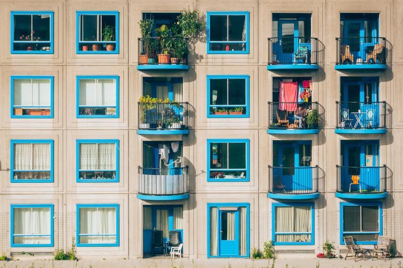 Stromverbrauch im 2-Personen-Haushalt - so wie hier eine Wohnung im Mehrfamilienhaus