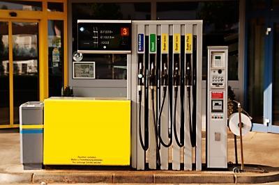 Tankstelle mit Autogas