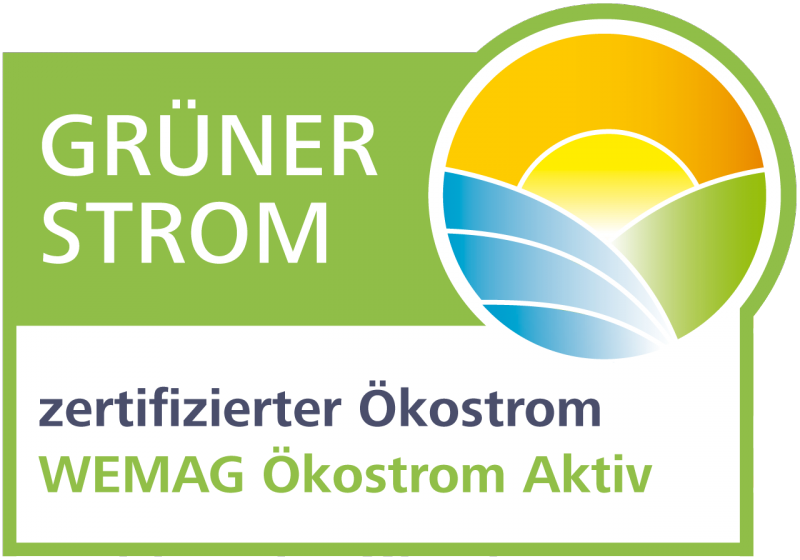 Siegel des Grüner Strom Label e.V.