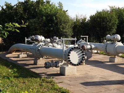 Erdgasleitungen
