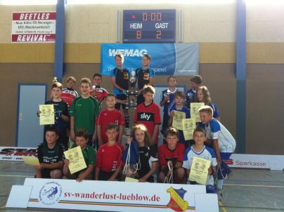 Radball in Wöbbelin beim 2. WEMAG Junior Cup
