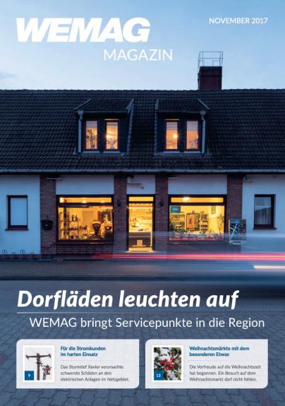 Titelblatt des WEMAG Magazins 2/2017