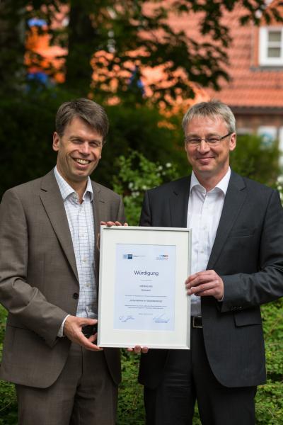 """WEMAG erhält die Auszeichnung """"Unternehmer in Verantwortung"""""""