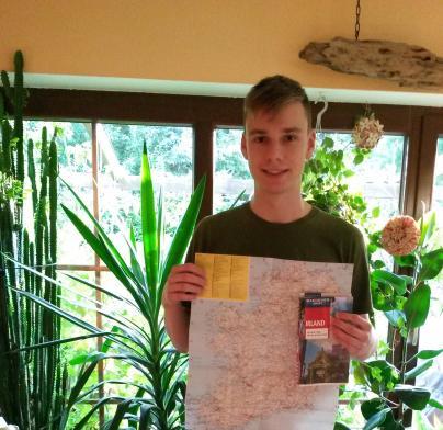 Malte macht sich auf die Reise nach Irland