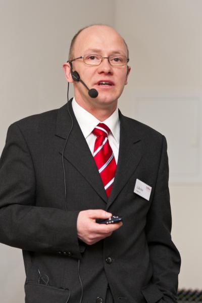 Dirk Lücke referierte bei der 24. Fachschulung Gebäudetechnik in Rostock