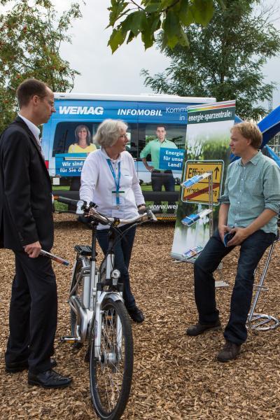 WEMAG präsentiert Elektromobilität auf der MeLa 2013