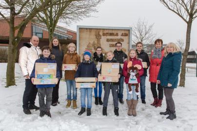 Energieexperten der Schule am Ruhner Berg in Marnitz