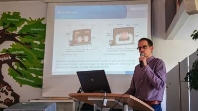Robert Sauer informiert zum Thema Netzschutz