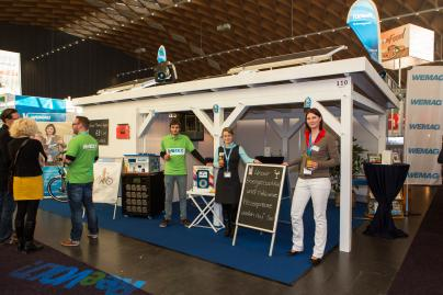 WEMAG-Stand auf der GastRo 2013 in Rostock