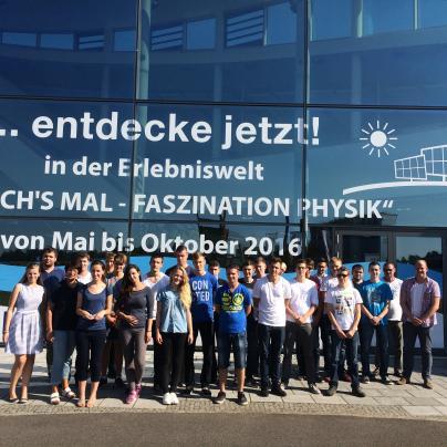 Besuch des LEEA in Neustrelitz von den Auszubildenden der WEMAG AG