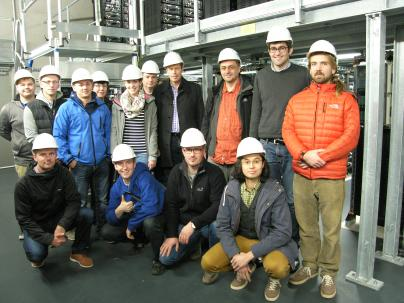 Studenten der Hochschule Wismar besuchten den WEMAG-Batteriespeicher