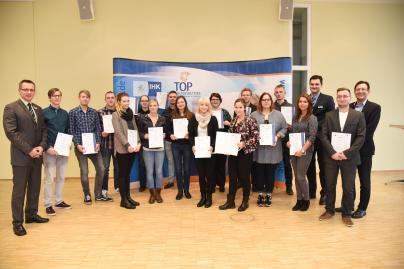 Bastian Piepelow gehört zu den Jahrgangsbesten der IHK-Prüfungen 2015 in Westmecklenburg