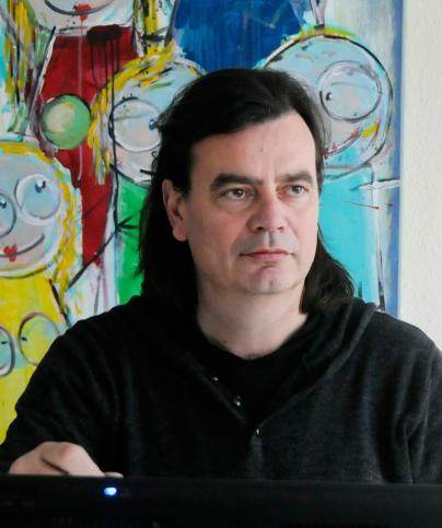 Der Mann hinter den WEMAG-Cartoons: Mario Lars