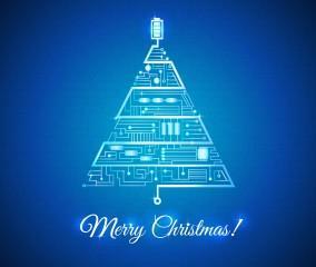 Frohe Weihnachten wünscht die WEMAG!