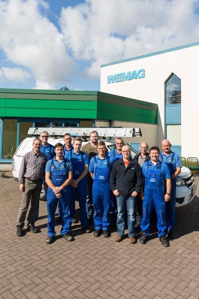 Mitarbeiter der WEMAG-Netzdienststelle Gadebusch