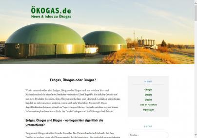 Unser neuer Blog Oekogas.de