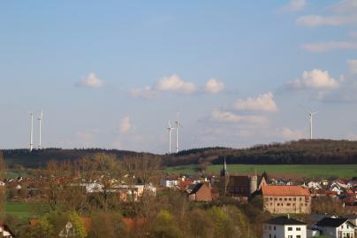 Windpark Külsheim im Taubenloch