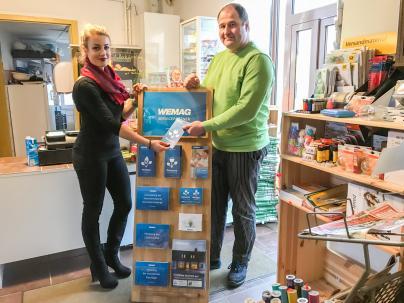 Der Dorfladen Demen ist nun WEMAG Servicepartner