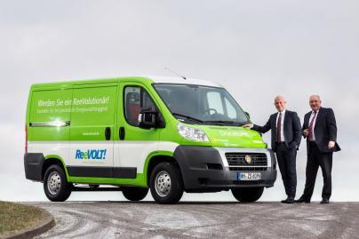 ReeVOLT GmbH Geschäftsführer Raymond See und Sirri Karabag