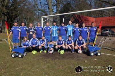 Die Mannschaft des SVV Blau Weiß Dobbertin