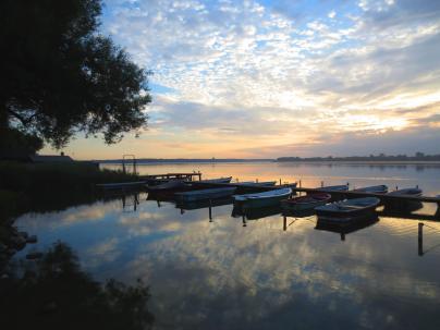 Blick auf das Biosphärenreservat Schaalsee