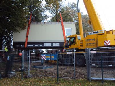 Die Schaltstation in Lenzen wird erneuert