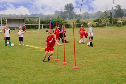Training der F-Junioren beim Sportverein Eiche 05 Weisen e.V.