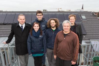 WEMAG Mitarbeiter und die Energie GbR Stattschule