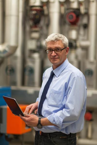 Ulf Schmidt, Energieberater und Geschäftsführer der Energiesparzentrale