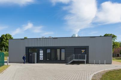 Der Batteriespeicher in Schwerin-Lankow