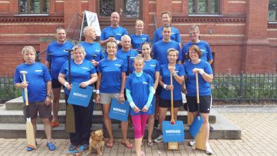 Das Team der WEMAG-Stromschnellen