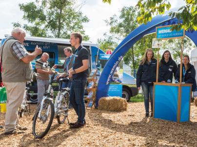 Die WEMAG präsentiert ihre Ökostrategie auf der diesjährigen MeLa