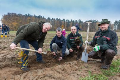 WEMAG Baumpflanzaktion 2019