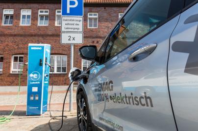 Elektro Auto - Inbetriebnahme WEMAG Ladesäule Neustadt Glewe