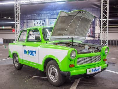 Der E-Trabant von der Firma ReeVOLT!